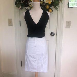 Guess white skirt